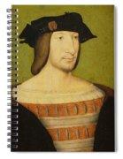 Portrait Of Francis I, King Of France Spiral Notebook