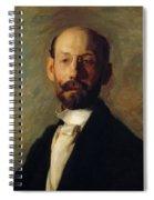 Portrait Of Frank B A Linton 1904 Spiral Notebook