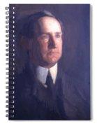 Portrait Of Frank Lindsay Greenwalt 1903 Spiral Notebook