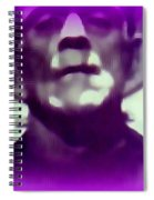 Portrait Of Frankie Spiral Notebook