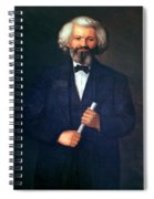 Portrait Of Frederick Douglass Spiral Notebook