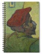 Portrait Of Gauguin Arles December 1888 Vincent Van Gogh 1853  1890 Spiral Notebook