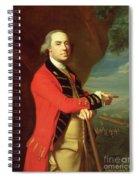 Portrait Of General Thomas Gage Spiral Notebook