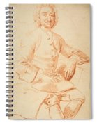 Portrait Of George Graham   Spiral Notebook