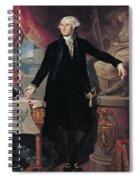 Portrait Of George Washington Spiral Notebook