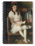 Portrait Of Gertrude Russell Spiral Notebook