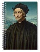 Portrait Of Girolamo Benivieni Spiral Notebook