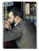 Portrait Of Henri Cordier Spiral Notebook