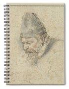 Portrait Of Henry Avercamp Spiral Notebook