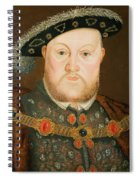 Portrait Of Henry Viii Spiral Notebook