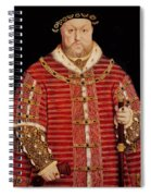 Portrait Of Henry Viii Spiral Notebook