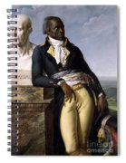 Portrait Of Jean-baptiste Belley Spiral Notebook