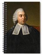 Portrait Of John Lee Attorney-general Wearing Legal Robes Spiral Notebook