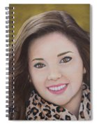 Portrait Of Kaitlyn Spiral Notebook