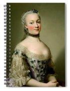 Portrait Of Katarzyny Z Zamoyskich Mniszchowej Spiral Notebook