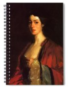 Portrait Of Katherine Cecil Sanford Spiral Notebook