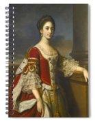 Portrait Of Lady Elizabeth Compton Later Countess Of Burlington Spiral Notebook