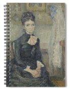 Portrait Of Leonie Rose Charbuy-davy Paris  March  April 1887 Vincent Van Gogh 1853  1890 Spiral Notebook