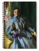 Portrait Of Lilly Eberhard Anheuser Anders Zorn Spiral Notebook
