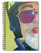 Portrait Of Lou Spiral Notebook