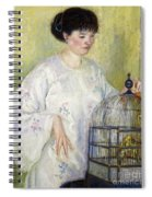 Portrait Of Madame Frieseke Spiral Notebook