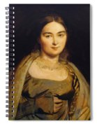 Portrait Of Madame Ingres Spiral Notebook