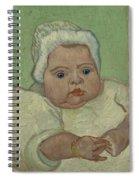 Portrait Of Marcelle Roulin Arles, December 1888 Vincent Van Gogh 1853  1890 Spiral Notebook