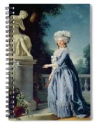 Portrait Of Marie-louise Victoire De France Spiral Notebook
