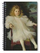 Portrait Of Marjorie Coldwell Westinghouse  Spiral Notebook