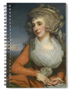 Portrait Of Mary Livius Spiral Notebook