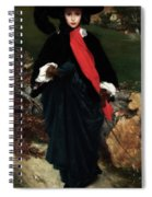 Portrait Of May Sartois Spiral Notebook