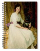 Portrait Of Miss Dorothy Dicksee  Spiral Notebook