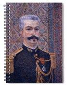 Portrait Of Monsieur Pool 1887 Spiral Notebook