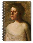 Portrait Of Mrs W H Bowden 1906 Spiral Notebook