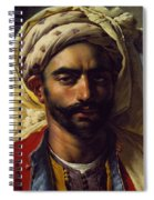 Portrait Of Mustapha Spiral Notebook