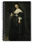 Portrait Of Oopjen Coppit Spiral Notebook