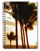 Portrait Of Paradise Spiral Notebook