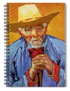 Portrait Of Patience Escalier Spiral Notebook