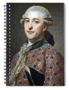 Portrait Of Prince Vladimir Golitsyn Borisovtj Spiral Notebook