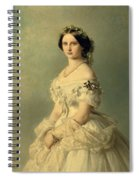 Portrait Of Princess Of Baden Spiral Notebook
