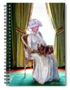 Portrait Of Prudence Spiral Notebook