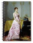Portrait Of Rose Caron Spiral Notebook