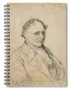 Portrait Of Sir Drack Spiral Notebook