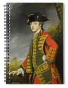 Portrait Of Sir Gerard Napier Spiral Notebook