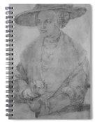 Portrait Of Susanne Von Brandenburg Ansbach Spiral Notebook