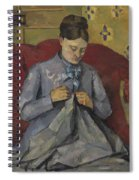 Portrait Of The Artist's Wife Spiral Notebook
