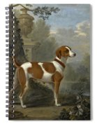 Portrait Of The Duke Of Hamilton's Hound Jewell Spiral Notebook