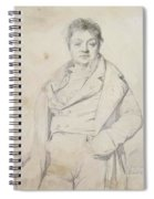 Portrait Of The Painter Charles Thevenin Director Of The Academy Of France In Rome Spiral Notebook