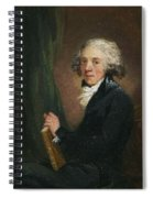 Portrait Of The Scottish Spiral Notebook