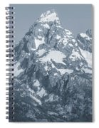 Portrait Of The Tetons Spiral Notebook